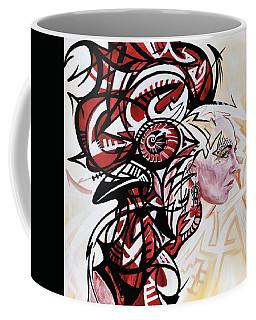 Graffiti Cock Coffee Mug