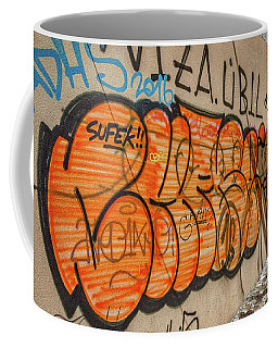 Coffee Mug featuring the photograph Graffiti In The Alley #2 - Slovenia by Stuart Litoff