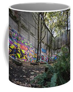 Graffiti At The Old Mill Coffee Mug