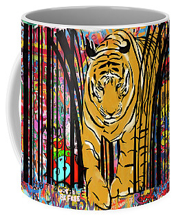 Graffiti Tiger Coffee Mug