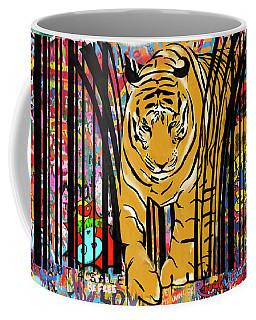 Graffiti Tiger Coffee Mug