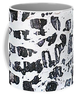 Graffitied Bark No. 1 Coffee Mug