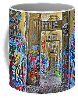 Grafiti Bridge To Nowhere Coffee Mug