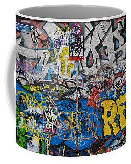 Grafitti On The U2 Wall, Windmill Lane Coffee Mug