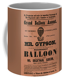 Grand Balloon Ascention Coffee Mug