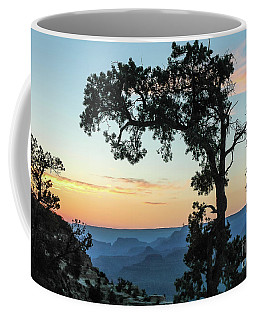 Coffee Mug featuring the photograph Grand Canyon At Sunset by Nick Boren