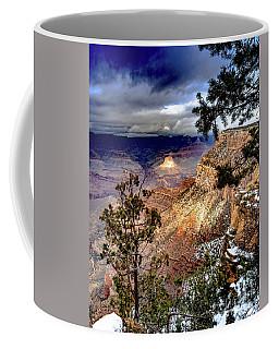 Grand Canyon In Winter Coffee Mug