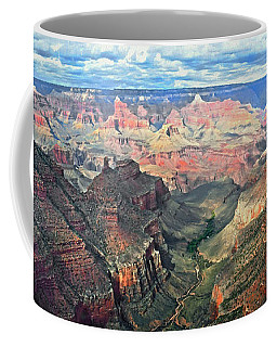 Grand Canyon Coffee Mug by Kai Saarto