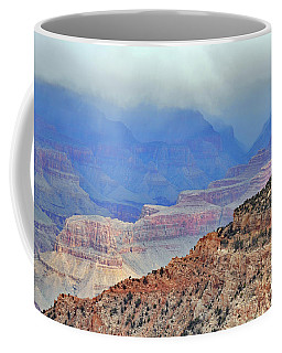 Grand Canyon Levels Coffee Mug by Debby Pueschel