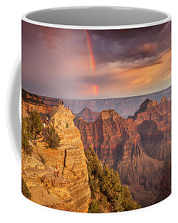 Grand Canyon North Rim Rainbow Coffee Mug