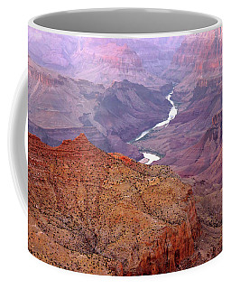 Grand Canyon River View Coffee Mug