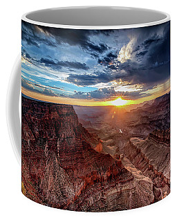 Grand Canyon Sunburst Coffee Mug