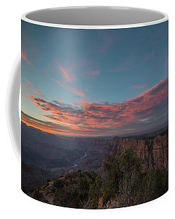 Grand Canyon Sunset 1943 Coffee Mug