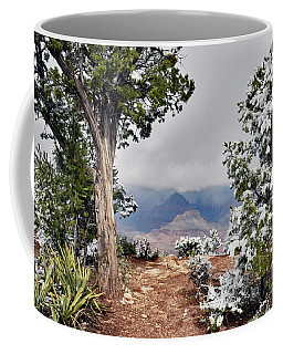 Grand Canyon Through The Trees Coffee Mug
