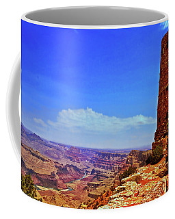 Coffee Mug featuring the photograph Grand Canyon Watchtower 003 by George Bostian