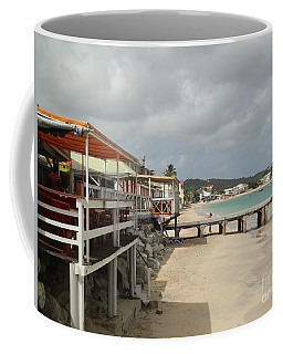 Grand Case Pier Coffee Mug