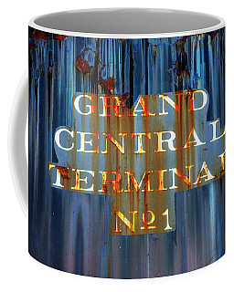 Coffee Mug featuring the photograph Grand Central Terminal No 1 by Karol Livote