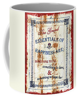 Grand Essentials Of Happiness Coffee Mug