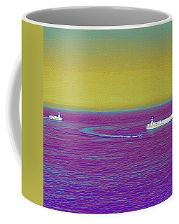 Purple Sea Coffee Mug