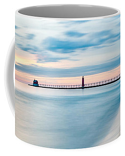Grand Haven Pier - Smooth Waters Coffee Mug