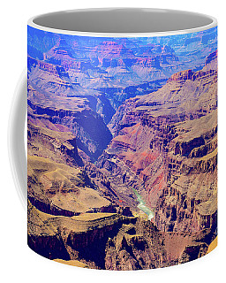 Grand Haze Canyon Coffee Mug
