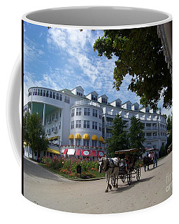 Coffee Mug featuring the photograph Grand Hotel by Charles Robinson