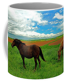Grand-pre Horses Coffee Mug