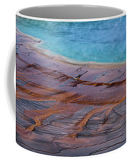 Grand Prismatic Spring Detail Coffee Mug
