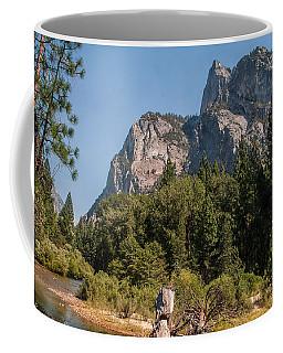 Grand Sentinel Zumalt Meadow Kings Canyon National Park Coffee Mug