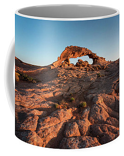 Coffee Mug featuring the photograph Grand Staircase Arch At Sunrise by James Udall