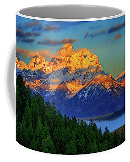 Grand Teton Alpenglow Coffee Mug