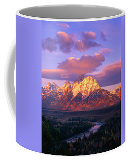 Grand Teton Sunrise Coffee Mug