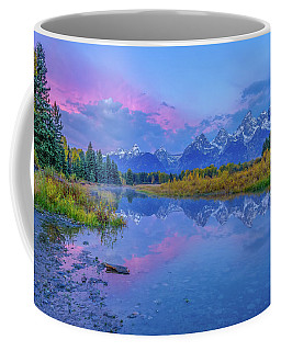 Coffee Mug featuring the photograph Grand Teton Sunrise by Scott McGuire