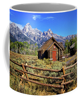 Grand Tetons Chapel Coffee Mug