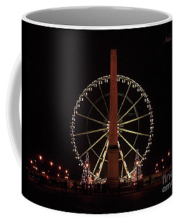 Grande Roue De Paris Night Coffee Mug