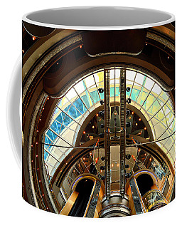 Grandeur Of The Seas Gold Centrum Coffee Mug
