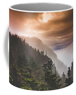 Grandfather Mountain Blue Ridge Mountains Of North Carolina Coffee Mug