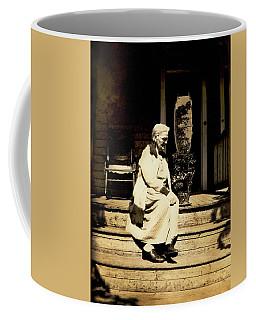 Coffee Mug featuring the photograph Grandma Jennie by Paul W Faust - Impressions of Light