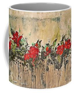 Grandma Roses Coffee Mug by AmaS Art