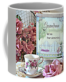 Grandma Tell Me Your Memories... Coffee Mug