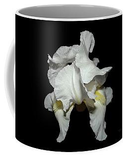Grandma's White Iris Coffee Mug