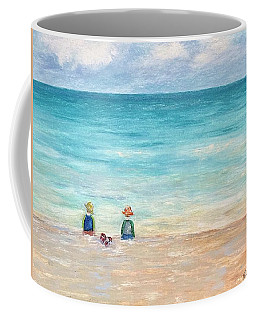 Coffee Mug featuring the painting Grandmas View by Norma Duch