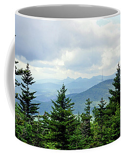 Coffee Mug featuring the photograph Grandmother Mountain by Meta Gatschenberger