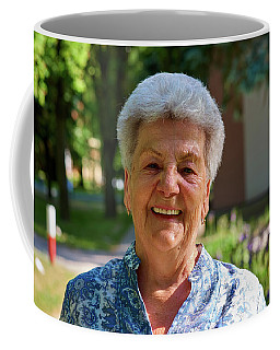 Coffee Mug featuring the photograph Grandmother by Tgchan