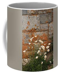 Granite Daisies Coffee Mug