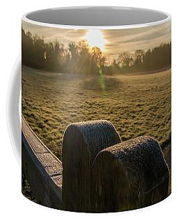 Grantchester Sunrise Coffee Mug by David Warrington