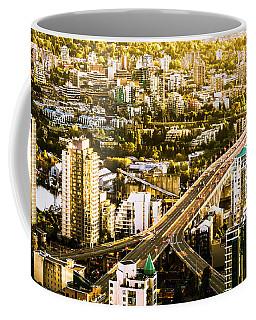 Granville Street Bridge Vancouver British Columbia Coffee Mug