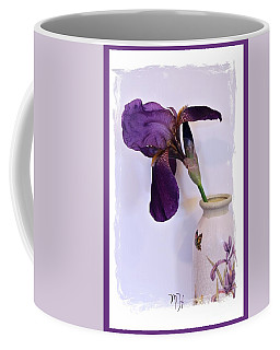 Grape Iris In A Vase Coffee Mug
