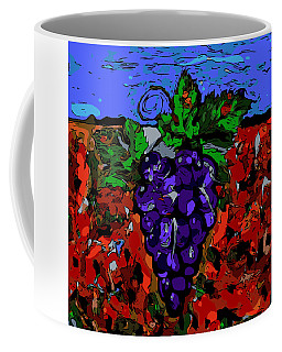 Grape Jazz Digital Coffee Mug