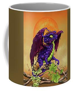 Grape Jelly Dragon Coffee Mug by Stanley Morrison